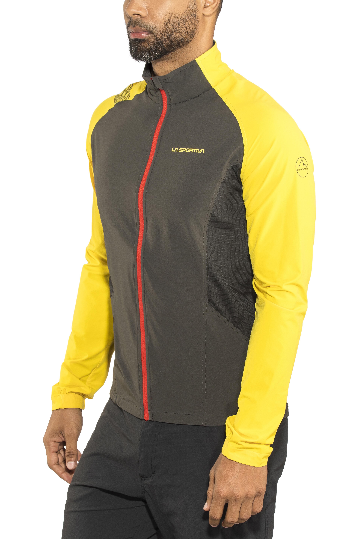 bddc9484 La Sportiva Levante Løbejakke Herrer gul/sort | Find outdoortøj, sko ...